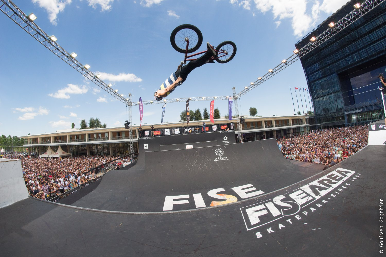 Démonstration de BMX Freestyle