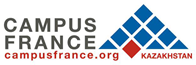 Logo Campus France Kazakhstan